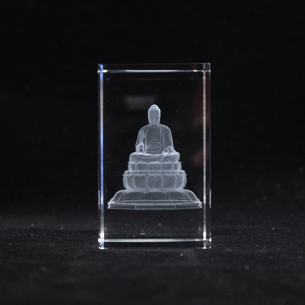 High Quality Chinese Buddhism Sculpture Ccrystal Buddha Statue Temple Home Decoration