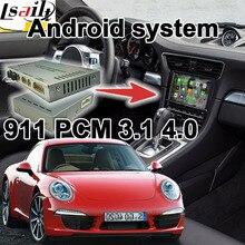 Android 6,0 GPS caja de navegación para Porsche 911 PCM 3,1 4,0 caja de interfaz de vídeo con carplay google play youtube vista trasera