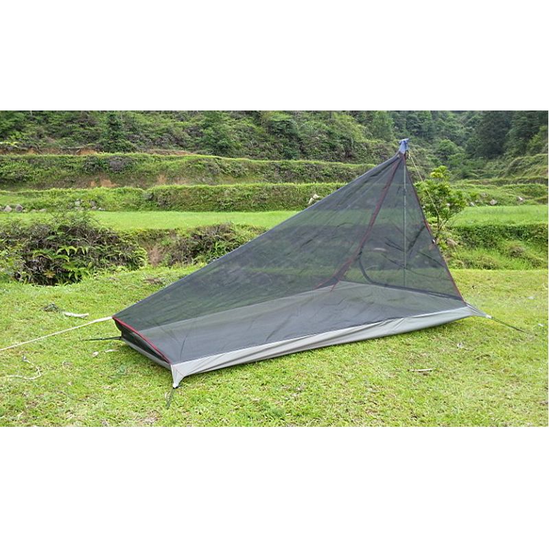 560G Ultralight Outdoor Camping Tent With Mosquito Net Summer 1 2 Person Single Tents Travel