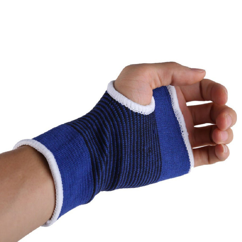 1Pair Wrist Hand Brace Gym Sports Support Wrist Gloves Hand Palm Gear Protector Carpal Tunnel Tendonitis Pain Relief 1