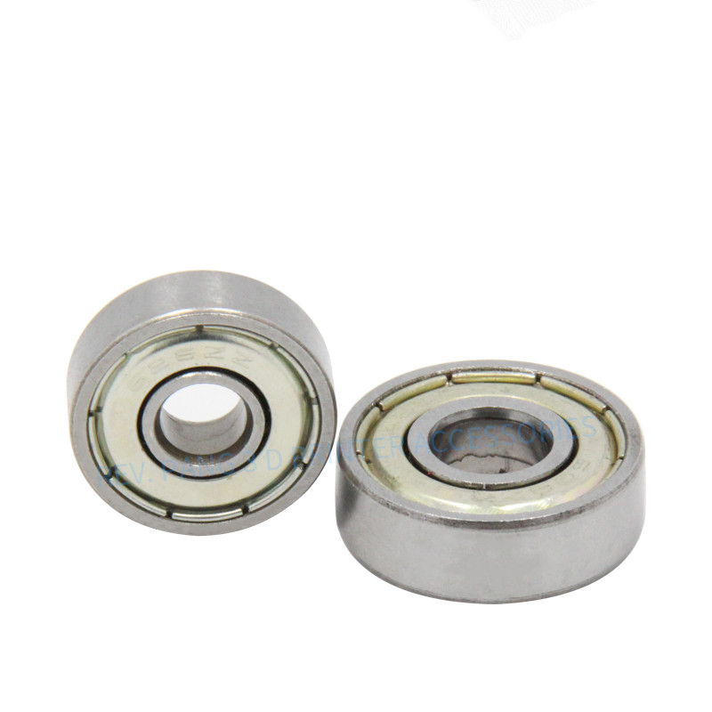 10pcs/LOT Double Shielded Miniature 608ZZ Ball Bearing Steel Deep Groove Ball Bearing 608 ZZ 8*22*7mm 3D Printer Accessories image