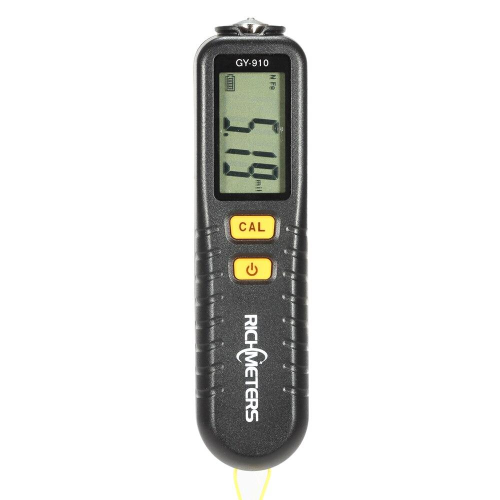 FäHig Richmeters Gy910 Handheld Digital Beschichtung Dicke Gauge Tester Fe/nfe Beschichtungen Lcd Display Niedriger Preis Physikalische Messgeräte