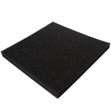 Активированный уголь пены Pad фильтр аквариума квадратный фильтрационный губчатый лист