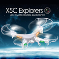 SYMA X5C X5C-12.4G Drones Quadcopter com Câmera HD de 2.0MP 2.4G 4CH 6-Axis Gyro RC Helicóptero Quadrocopter Zangão com Câmera