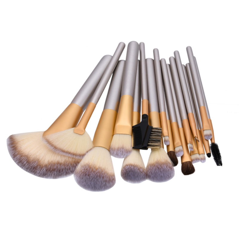 High Quality 12/18/24pcs Makeup Brushes Professional Powder Foundation Brush Set Cosmetic Make Up Tools Blush Brush 24pcs makeup brushes set cosmetic make up tools set fan foundation powder brush eyeliner brushes leather case with pink puff