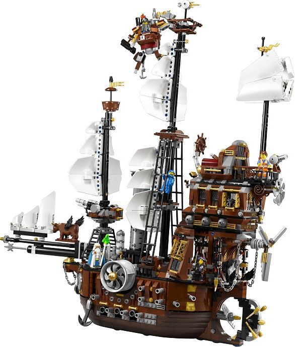 LEPIN Movie Pirate Ship Metal Beard's Sea Cow Model Building Blocks Kits Bricks Figures Toys Compatible Legoing lepin 16002 22001 16042 pirate ship metal beard s sea cow model building kits blocks bricks toys compatible with 70810