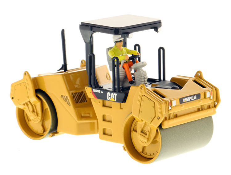 ФОТО DM 1: 50 CAT CB534D XW Asphalt compactor model 85132 Alloy Collection Model
