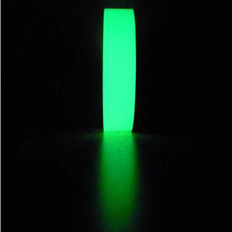 Bande adhésive de Vision nocturne | Bande lumineuse de scène d'avertissement de 3M * 1CM, lueur dans la nuit, rubans de décoration intérieure de sécurité