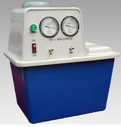 W obiegu pompa próżniowa wody  SHX-IIIB-180  180 W  dwa gazu odlotowego z kranu szyi