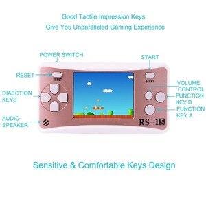 Image 3 - ES 9 2.5LCDD Palmare Console di Gioco per I Bambini Costruito in 168 Old School Giochi Retro Arcade Giocatori di Gioco del Ragazzo Di Compleanno regalo