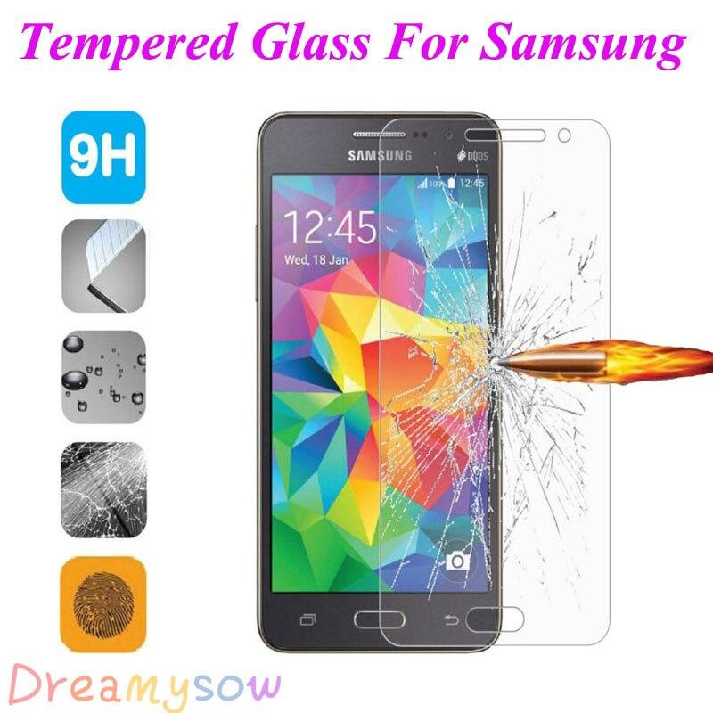 Лидер продаж закаленное Стекло для Samsung Galaxy C5 C7 J1 Мини J3 J5 J7 A3 A5 <font><b>A7</b></font> S6 2016 Экран протектор закаленное крышка Чехол Плёнки