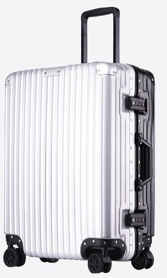 20/22/24/26/28 inch bump color double color aluminum frame stick box universal wheel luggage suitcase card board box male suitca