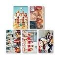 Youpop kpop k-pop tarjeta de álbum de fotos de terciopelo rojo de pvc tarjetas de plástico tarjeta lomo retro hecho a sí mismo la tarjeta fotográfica xk387