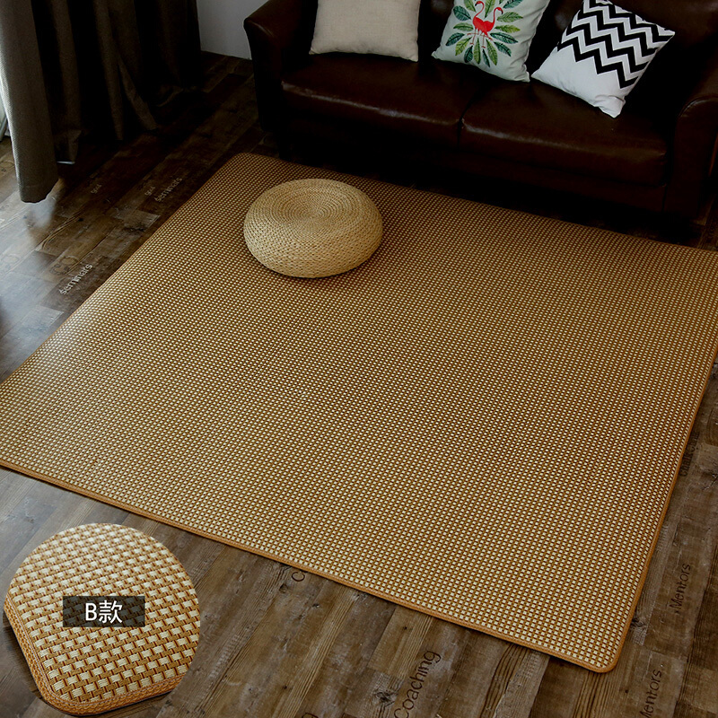 Tatami japonais bébé ramper tapis pour salon la canne chambre tapis tapis été cool jouer tapis canapé tapete personnalisé