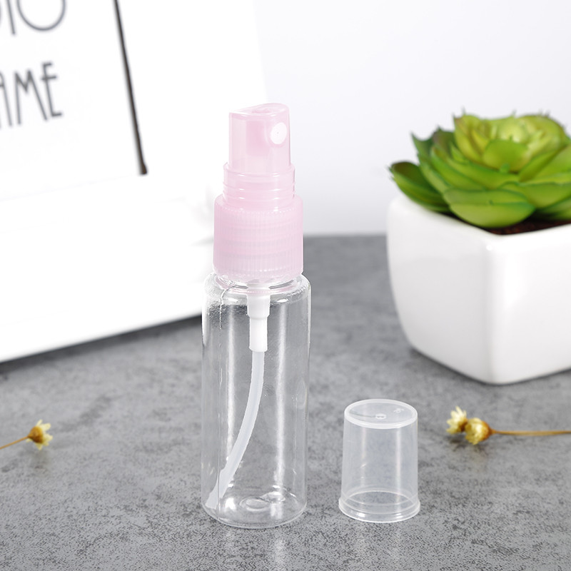 Portable 20ml Travel PET Transparent Plastic Perfume Atomizer Spray Bottle