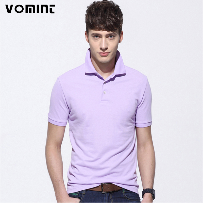2017 Men's Cotton Polo Shirts Top Quality Man's Clothing Short Sleeve Mens Tops POLO Solid Color Men Shirts S6CT002