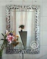 Moderne wand glas spiegel venedig wand dekorative gespiegelt kunst venezianischen spiegel waschtisch konsole spiegel M-F2100