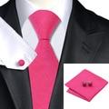 8.5 cm Corbatas Para Hombres Multi Color de La Novedad Para Hombre Lazos de Seda Establece Corbata Hanky gemelos para los Negocios Traje de Boda Hecho A Mano Empate conjunto