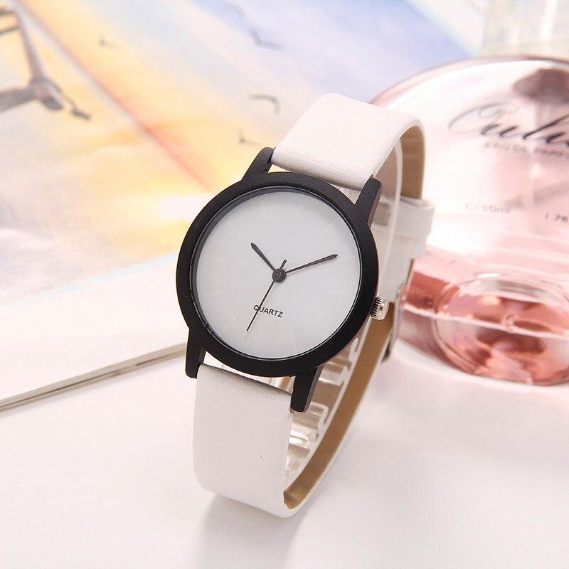 Quartz Women Watches Minimalist dial Denim Simple Leather Strap Men's Casual Analog Elegant WristWatch Relogio Feminino Watch