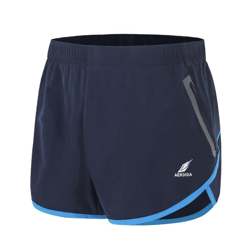 Men's Marathon Short Trousers Men Plus Size Running Shorts S-4XL Fitness Trunks For Man Jogging Polyester Shorts Plus Size