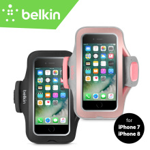 Belkin Original Sport-Fit Pro Armband for iPhone 8/7 4.7″ with Cord Storage Key Pocket Jogging GYM Hand-washable Case F8W795