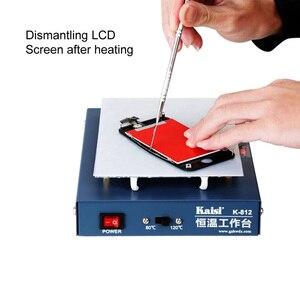 Image 2 - 온도 조절기 예열 스테이션 휴대 전화 lcd 화면 열기 분리기 전화 회로 기판 desoldering station