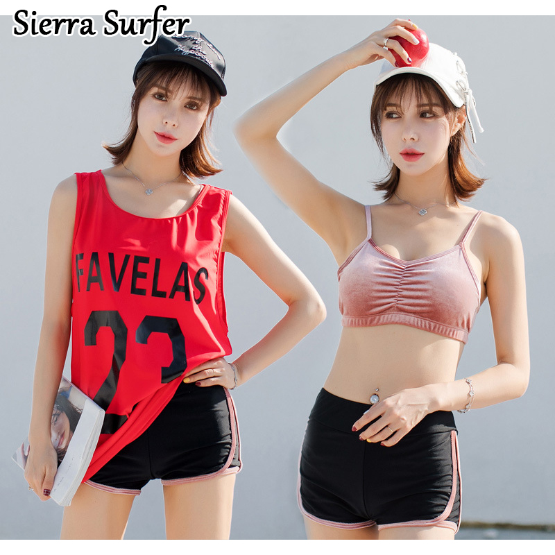 Bikinis Women Lady Plavky May Beach Women Plus Size Swimwear 2018 New Ladies Swimwear Swimsuit Sexy Bikinis Push Up Eye Three