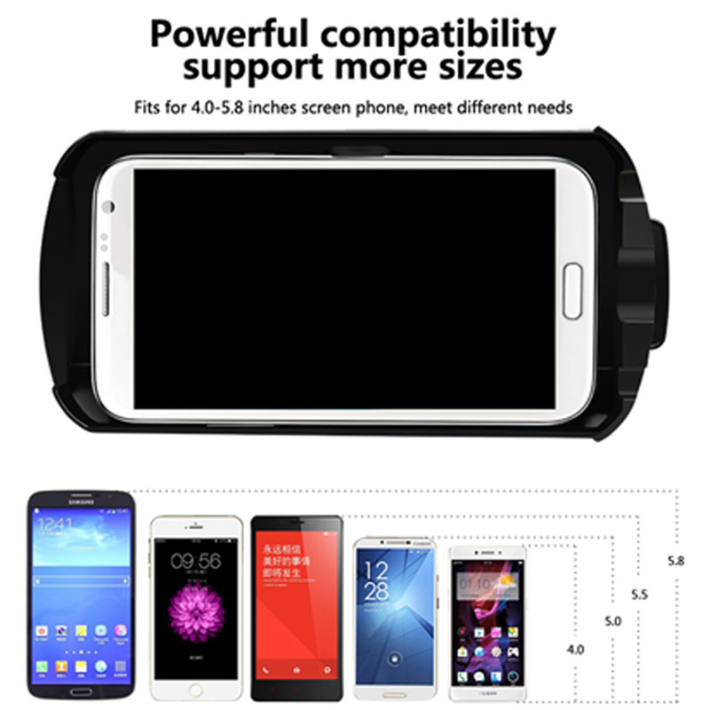 "3D VR Headset Virtual Reality Glasses VR Case All In One For 4.0""-5.8"" iPhone Samsung Moto LG Nexus HTC Wholesale 14"