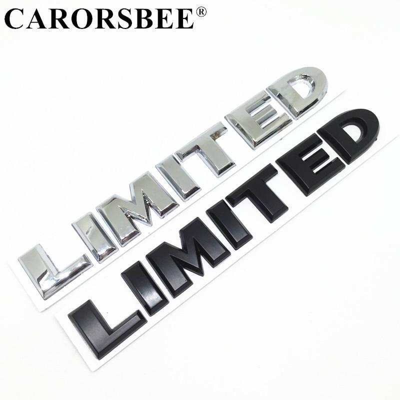 New 3D Car Logo Silver Chrome Trunk Sticker Decal Badge Emblem Autos Vehicles by Stickers