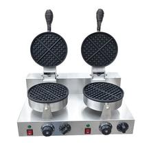 Две пластины вафельница электрическая Коммерческая техника для выпечки вафлей
