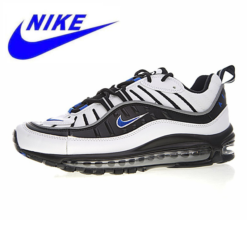 detailed look f1616 66c02 US $92.15 49% OFF|Original Nike Air Max 98 Gundam Men Running Shoes, Shock  Absorption Non Slip Breathable,Outdoor Sneakers Shoes size 7 11-in Running  ...