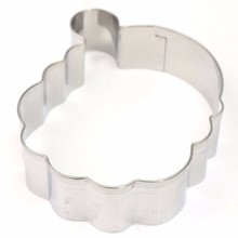 3D DIY Christmas Santa Claus Cookie Cutter Stainless Steel Baking Mold Fondant Cake Pastry Biscuit Decorating Mould Tools