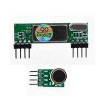 433 мГц Супергетеродинный 3400 RF передатчик и приемник Ссылка Комплект для Arduino ARM MCU RXB6