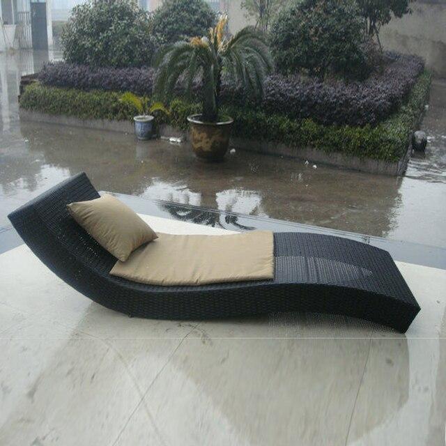 de luxe contemporain en rotin transat pour piscinejardinplage mer port par - Transat Piscine