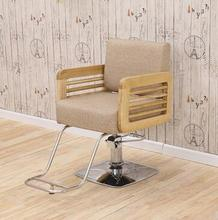 Hair salon special barber chair hair chair simple hairdressing shop chair can lift hair chair high grade hairdressing chair. gold euramerican style design hairdressing chair barber chair