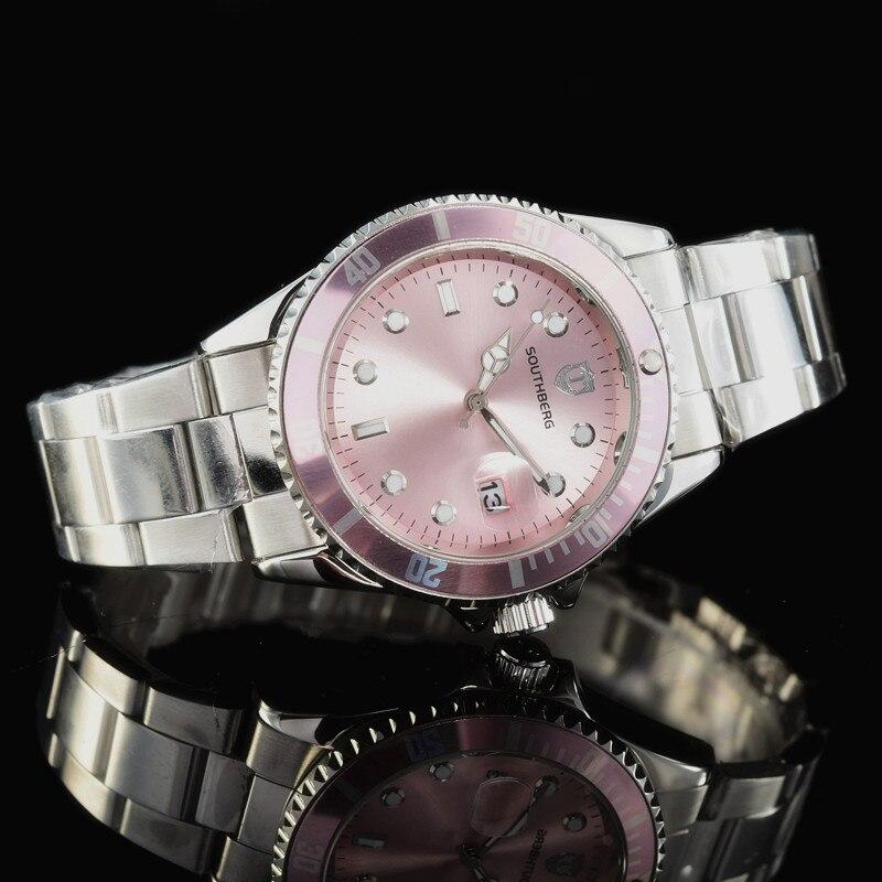 2018 Luxury role Fashion Mens DAYTONA Watches Quartz Steel SOUTHBERG Top GMT Brand Green Wrist Watch For Man relogio masculino цена