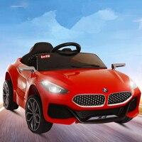 Младенческая и для детского электромобиля четырехколесный автомобиль качели может сидеть детский автомобиль пульт дистанционного управл