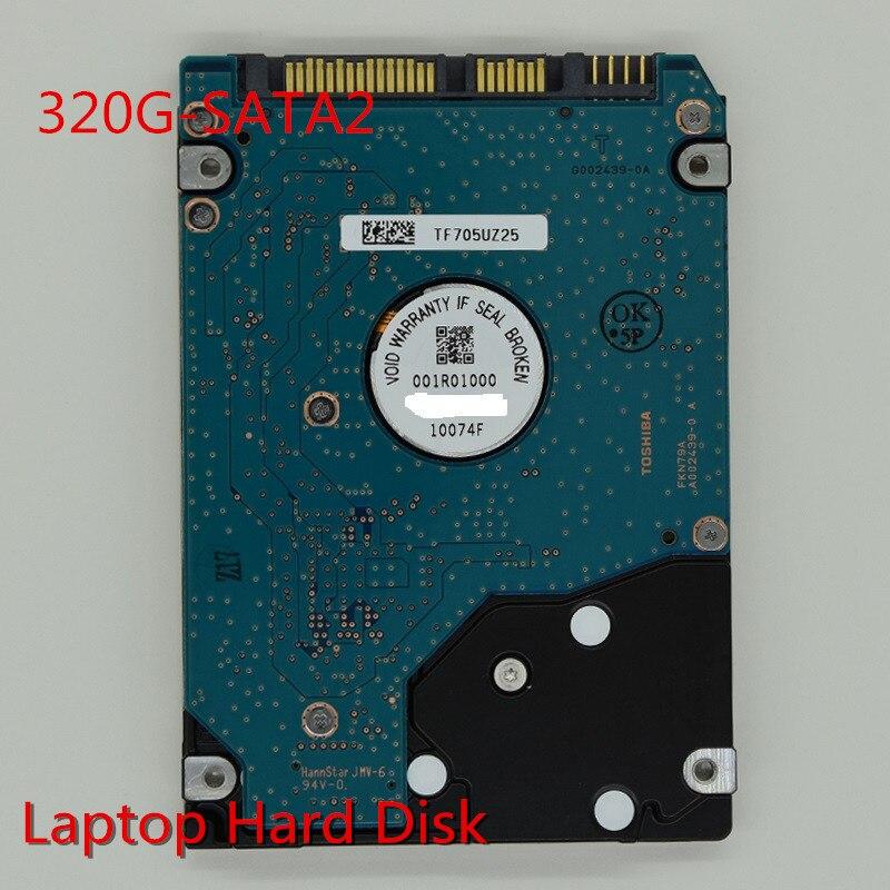 320G Internal Laptop Hard Drive Disk SATA2 2.5 HDD 7200RPM For Notebook brand new 2 5inch hdd 1000gb 5400rpm 8m buff sata internal hard disk drive for laptop notebook maxdigital md1000gb sata 2 5inch