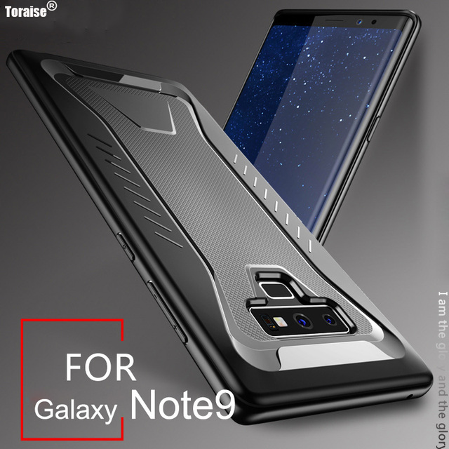 reputable site e03f2 683a7 US $3.99 20% OFF|Toraise For Samsung Galaxy Note 9 Case Note9 Luxury New  Anti knock Soft TPU Protective Cover Case for Samsung Note 9 Coque Capa-in  ...