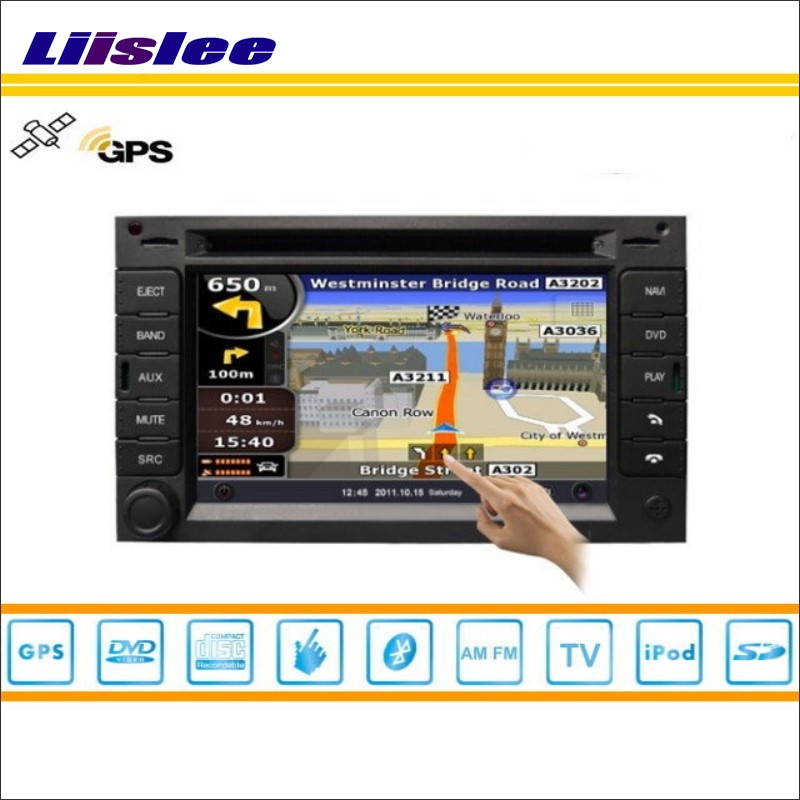 Liislee For Honda For Accord 1997~2002 GPS Satellite Navigation Radio Stereo Nav CD DVD Player HD Touch Screen Multimedia System