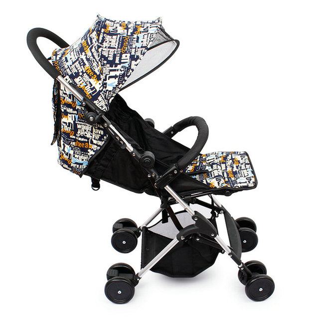 0-36month baby stroller protable light small can be taken on the plane stroller aluminous alloy frame available for all seasons