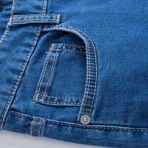 Image 5 - SEMIR 청바지 남성 스트레이트 바지 남성 클래식 청바지 남성 데님 청바지 디자이너 바지 캐주얼 세련된 패션 바지 탄력 블루