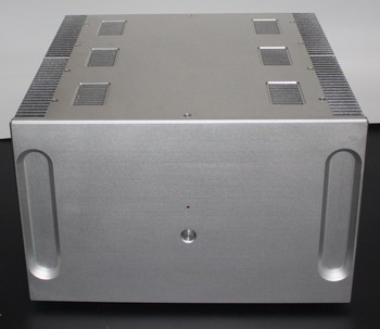 WA33 Aluminum enclosure Preamp chassis Power amplifier case/box size 410*400*250MM