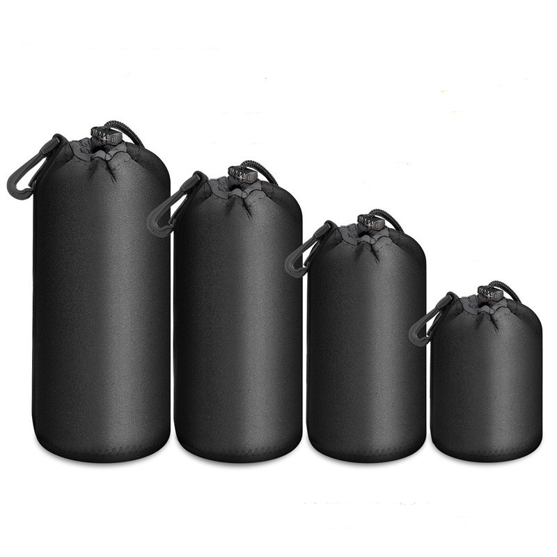 Waterproof Neoprene Soft Video Camera Lens Pouch Bag Case Full Size For Canon Nikon Sony