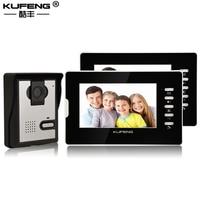 7 Video Door Phone Intercom Doorbell Home Security Camera Monitor Night Vision Remote Unlock One To