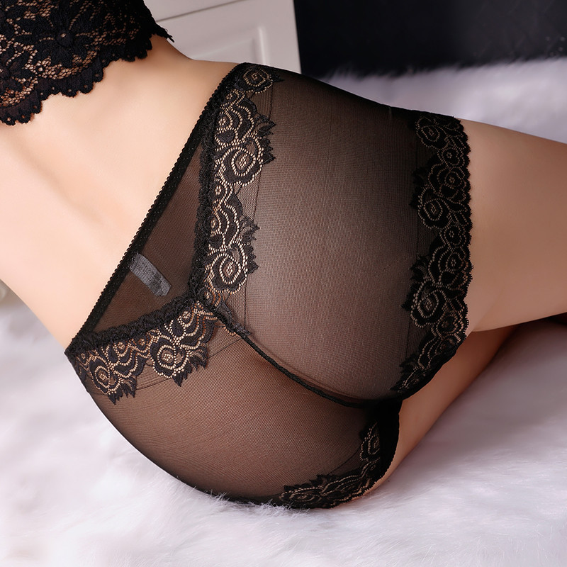 2Pcs/lot New Arrival Underwear Women   Panties   Plus Size 5XL Soft Lace Transparent hollow Sexy   Panties   Lingerie