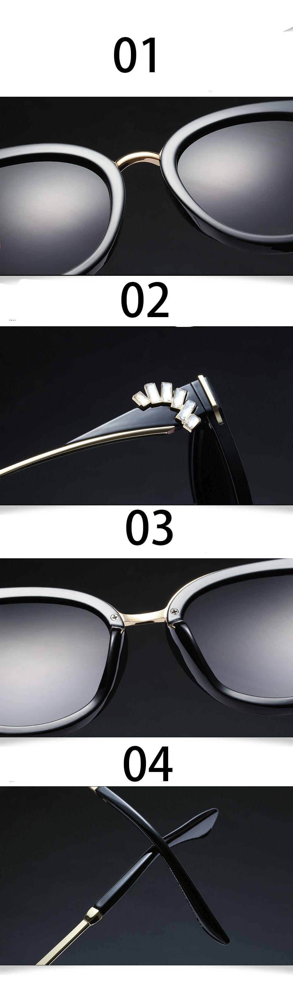 HTB1jzEdXPihSKJjy0Ffq6zGzFXan - Oversized Crystal Acetate Black Cat Eye Sunglasses 2018