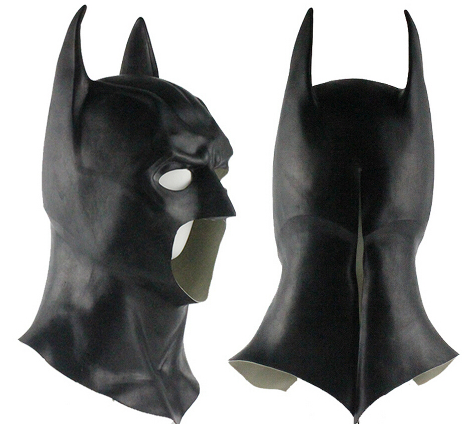 Cosplay batman mask batman vs superman latex mask cosplay - Masque superman ...