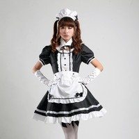 Sexy Maid Cosplay Costume Sweet Women Lolita Dress Anime Cosplay Sissy Maid Uniform Plus Size Halloween Costumes S 3XL