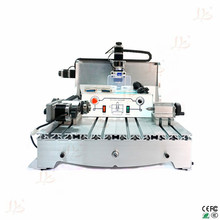 4 axis cnc drilling machine 6040Z D300 with ball screw and spindle for wood glass so on cnc router